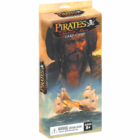 Pirates of the Spanish Shuffling the Deck Card Game