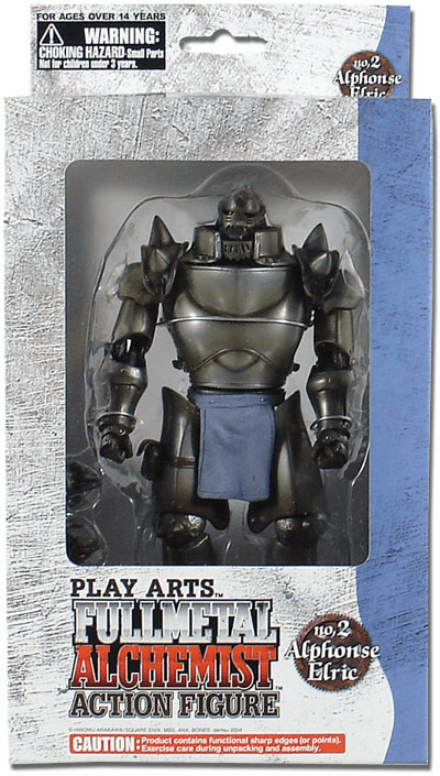 Play Arts Fullmetal Alchemist Alphonse Elric Action Figure