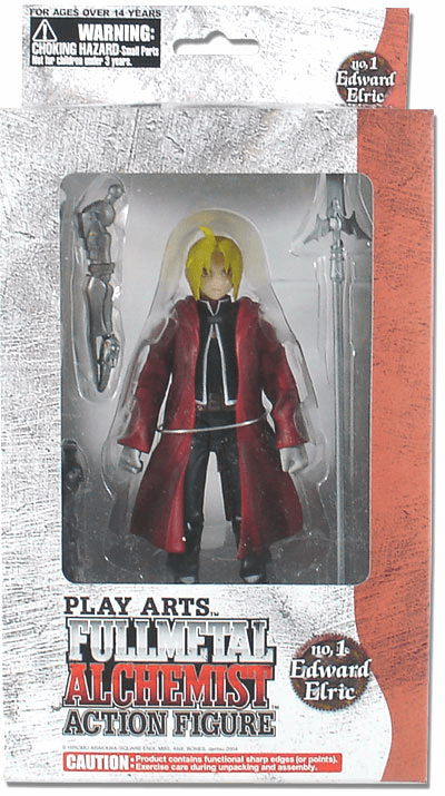 Play Arts Fullmetal Alchemist Edward Elric Action Figure