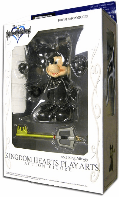 Play Arts Kingdom Hearts 2 King Mickey Action Figure