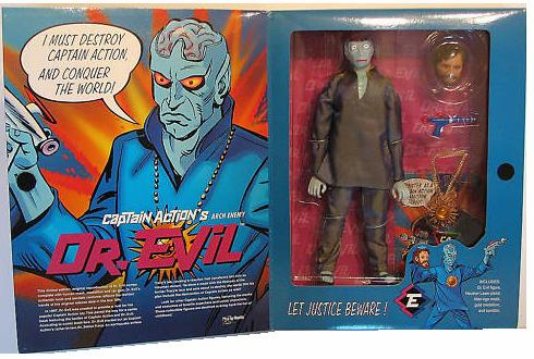 Playing Mantis Captain Action Dr. Evil Action Figure