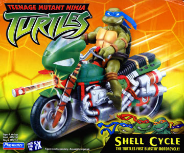 Playmates 2003 Teenage Mutant Ninja Turtles Shell Cycle