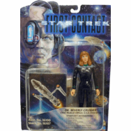 Playmates Star Trek First Contact Dr. Beverly Crusher Figure