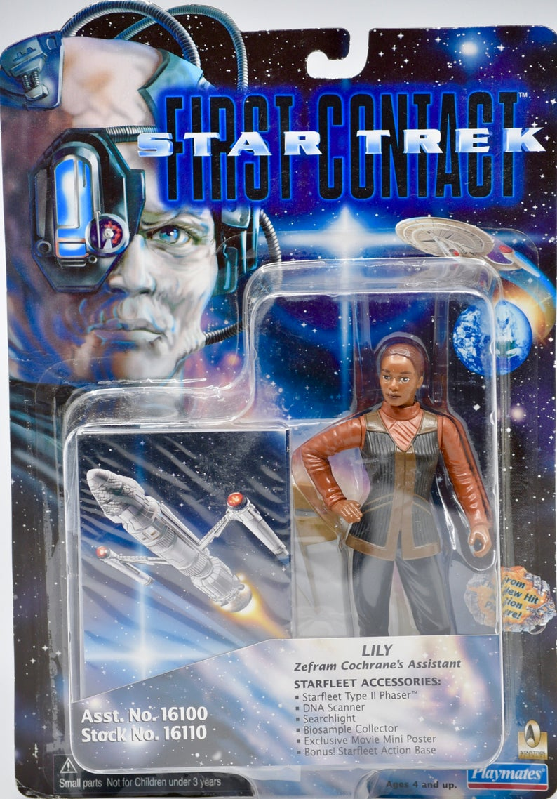 Playmates Star Trek First Contact Lily Figure