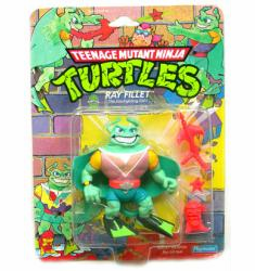 Playmates Teenage Mutant Ninja Turtles Ray Fillet Figure