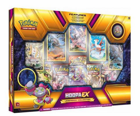 Pokemon Hoopa EX Legendary Collection Special Edition Box
