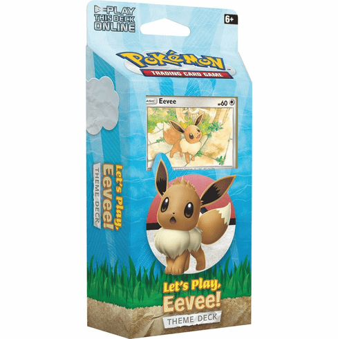 Pokemon Let's Play Eevee Theme Deck