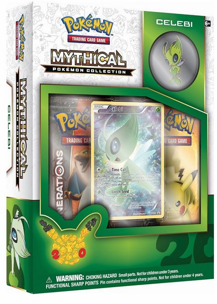 Pokemon Mythical Celebi Collection Box
