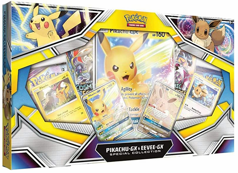 Pokemon Pikachu GX and Eevee GX Special Collection Box