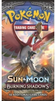 Pokemon Sun and Moon Burning Shadows Booster Pack