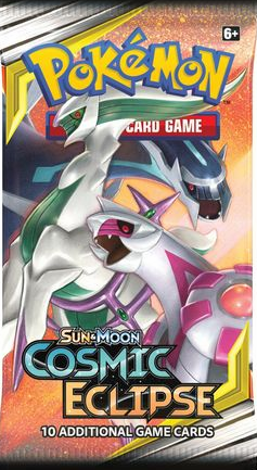 Pokemon Sun and Moon Cosmic Eclipse Booster Pack