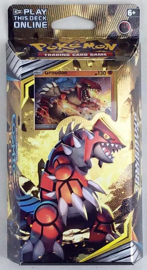 Pokemon Sun and Moon Cosmic Eclipse Towering Heights Theme Deck
