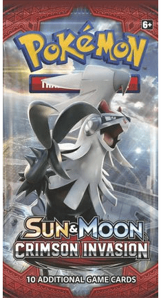 Pokemon Sun and Moon Crimson Invasion Booster Pack