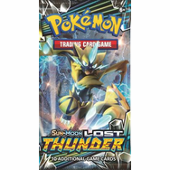 Pokemon Sun and Moon Lost Thunder Booster Pack