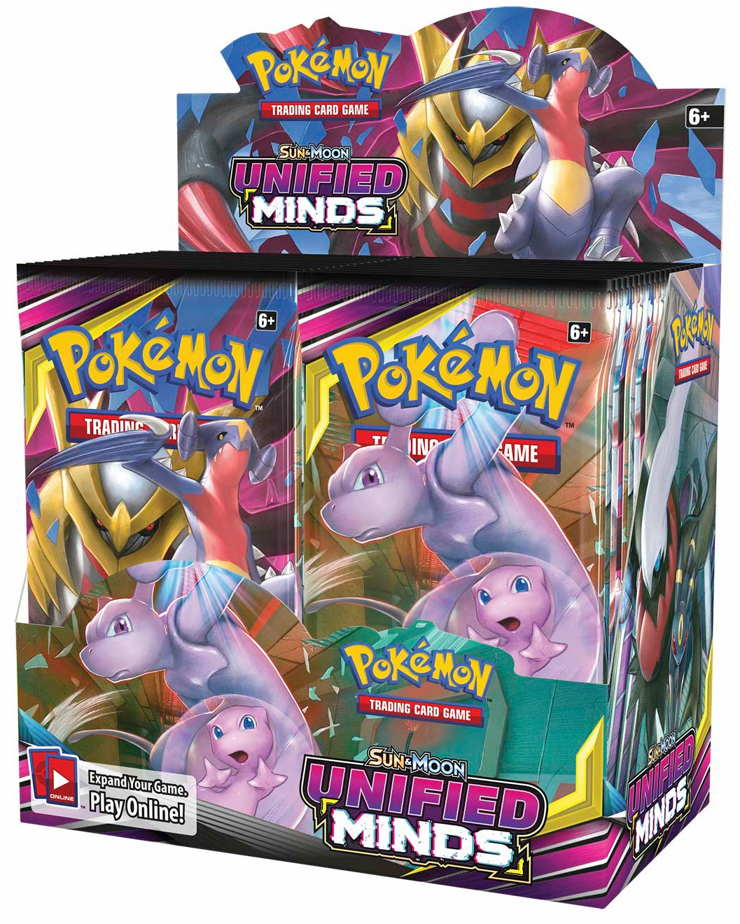 Pokemon Sun and Moon Unified Minds Sealed Booster Box