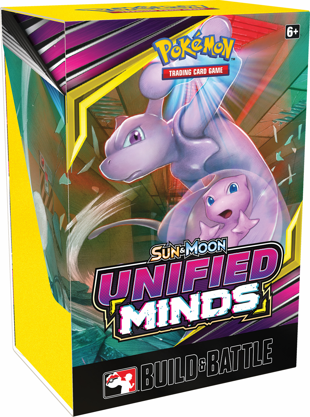 Pokemon Sun and Moon Unified Minds Build and Battle Box