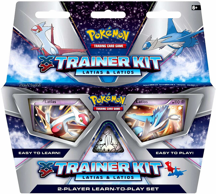 Pokemon XY Latias & Latios Trainer Kit Starter Set