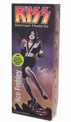 Polar Lights KISS Ace Frehley Model Kit