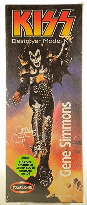 Polar Lights KISS Gene Simmons Model Kit