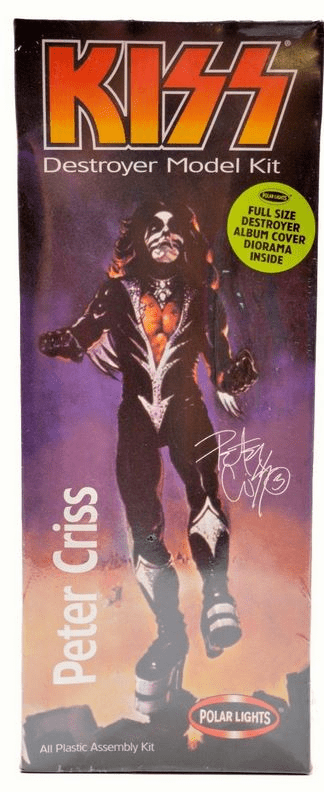 Polar Lights KISS Peter Criss Model Kit