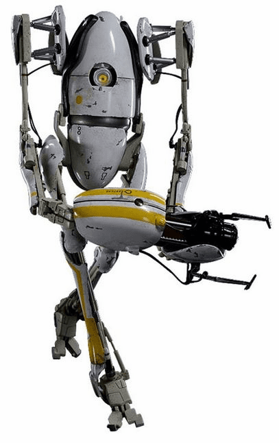 Portal 2 P-Body 1/6 Scale Collectible Figure