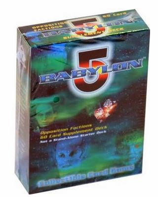 Precedence Babylon 5 Opposition Factions Supplement Deck