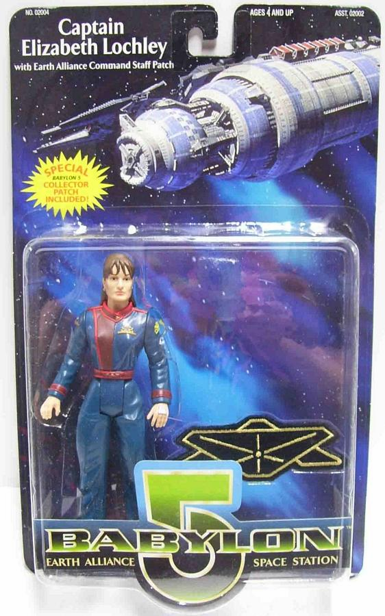Premiere Toys Babylon 5 Captain Elizabeth Lochley Action Figure