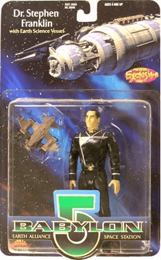 Premiere Toys Babylon 5 Dr. Stephen Franklin Action Figure