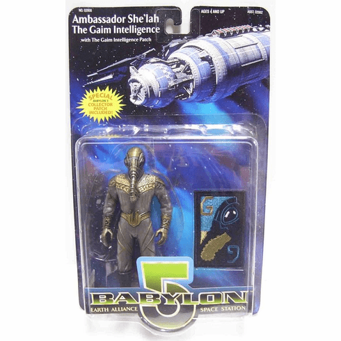 Premiere Toys Babylon 5 Gaim Intelligence Ambassador She'lah The Gaim Action Figure