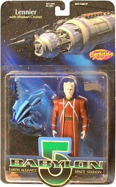 Premiere Toys Babylon 5 Lennier in Brown Action Figure