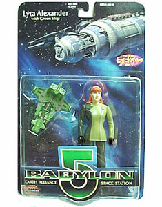 Premiere Toys Babylon 5 Lyta Alexander with Gloves Action Figure