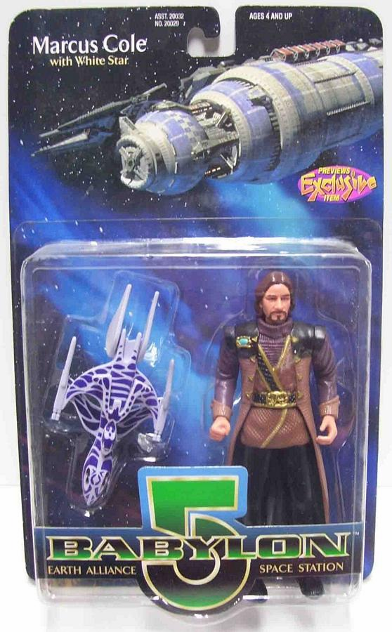 Premiere Toys Babylon 5 Marcus Cole Action Figure