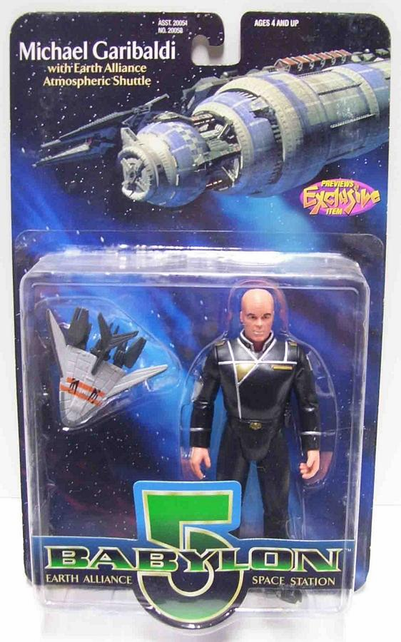Premiere Toys Babylon 5 Michael Garibaldi Bald Action Figure