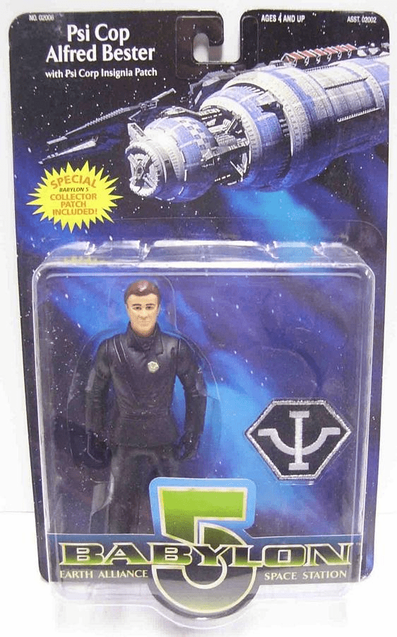 Premiere Toys Babylon 5 Psi Corp Alfred Bester Action Figure
