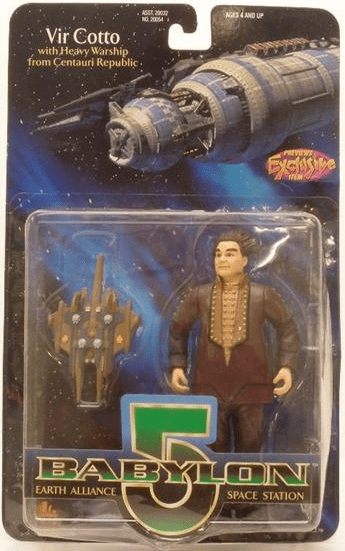 Premiere Toys Babylon 5 Vir Cotto in Brown Action Figure