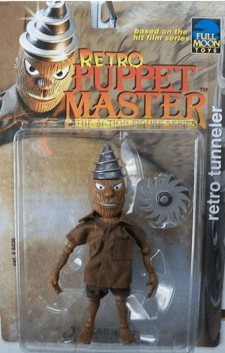 Puppet Master Retro Tunneler Action Figure