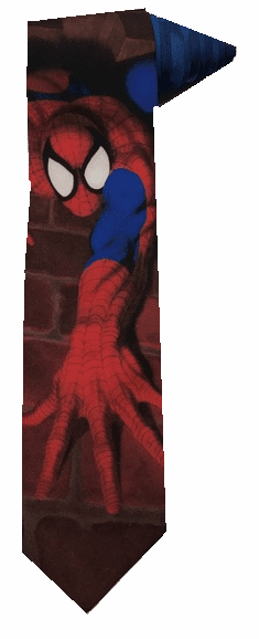 Ralph Marlin Marvel Comics Spider-Man Neck Tie