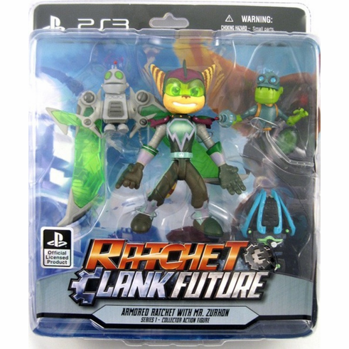 Ratchet Clank Future Armored Ratchet Figure