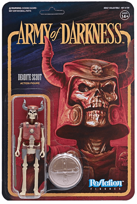 ReAction Army of Darkness Deadite Scout Figure