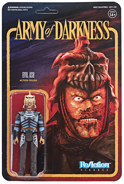 ReAction Army of Darkness Evil Ash Figure