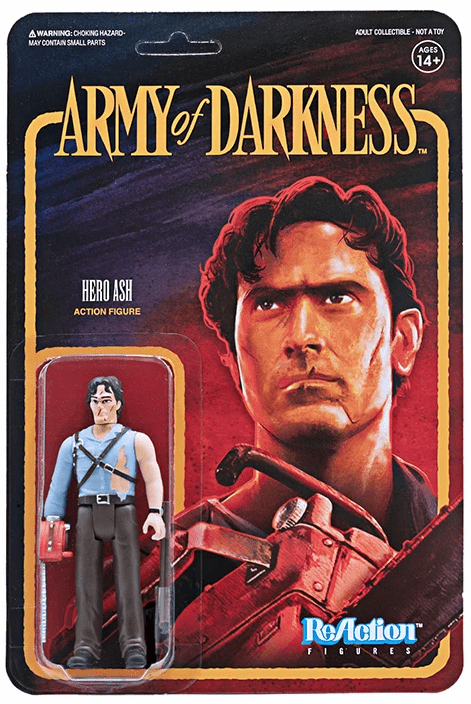 ReAction Army of Darkness Hero Ash Figure