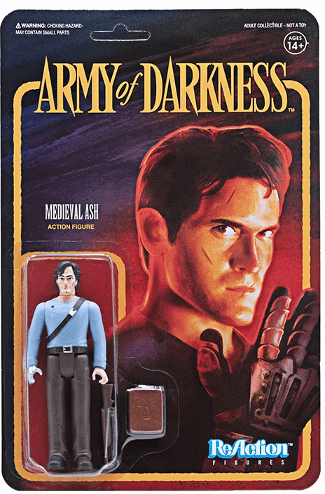 ReAction Army of Darkness Medieval Ash Figure
