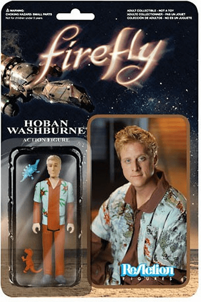 ReAction Firefly Hoban Washburne Figure