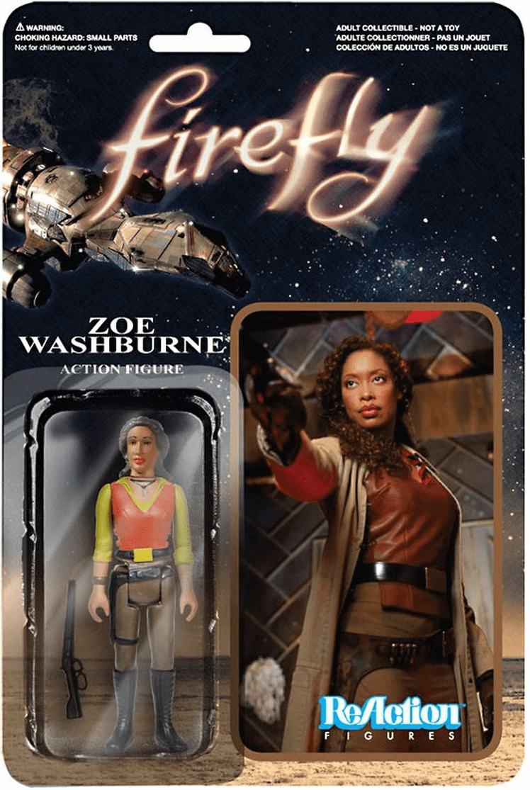 ReAction Firefly Zoe Washburne Figure