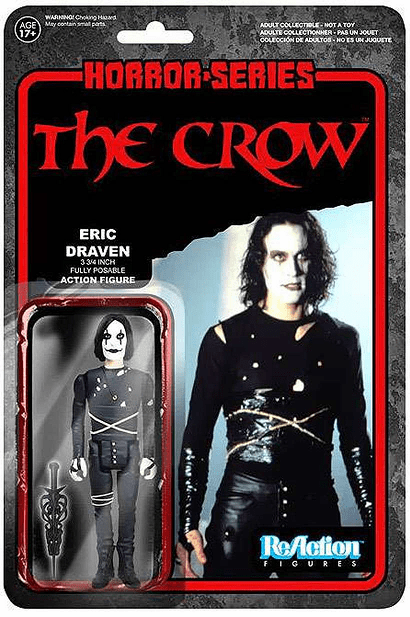 ReAction The Crow Eric Draven Figure