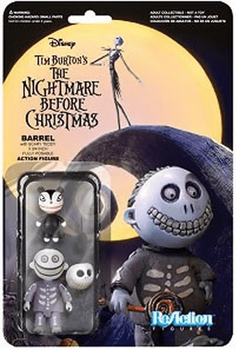 ReAction The Nightmare Before Christmas Barrel Figure
