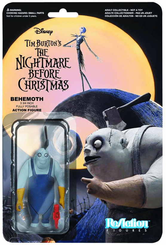 ReAction The Nightmare Before Christmas Behemoth Figure