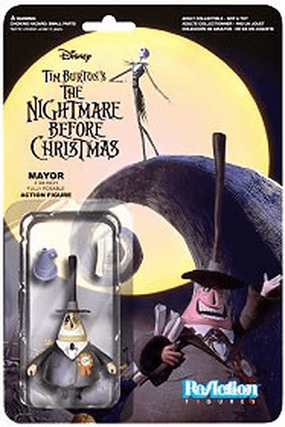 ReAction The Nightmare Before Christmas Mayor Figure
