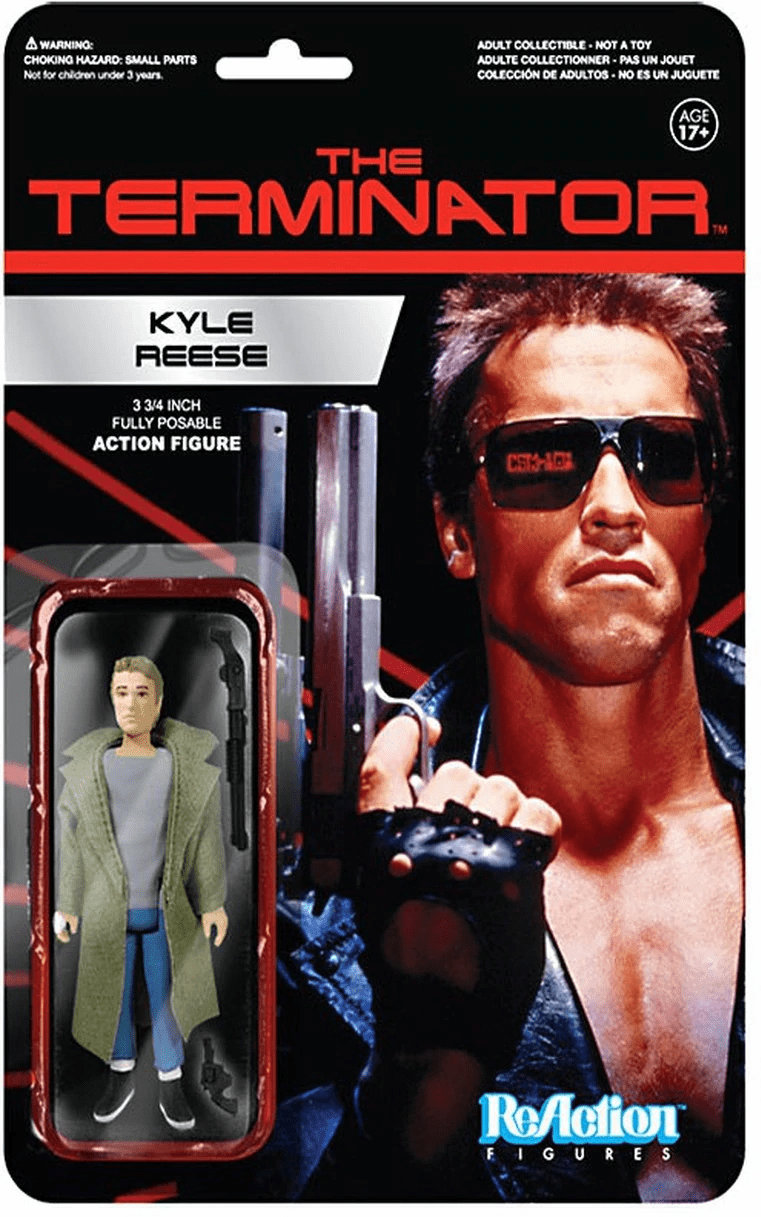 ReAction The Terminator Kyle Reese Figure