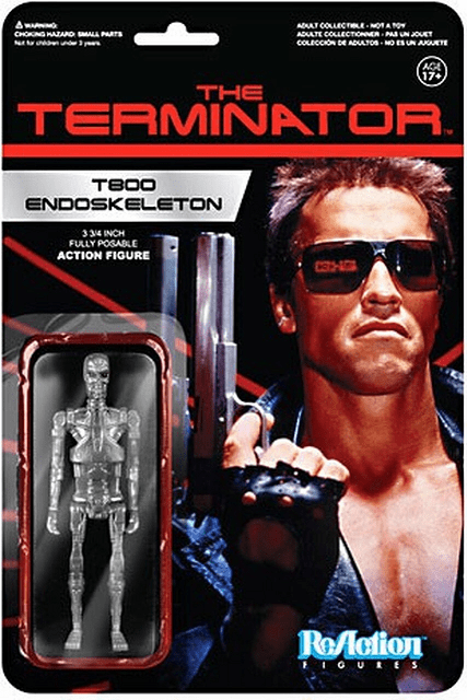 ReAction The Terminator T-800 Endoskeleton Figure